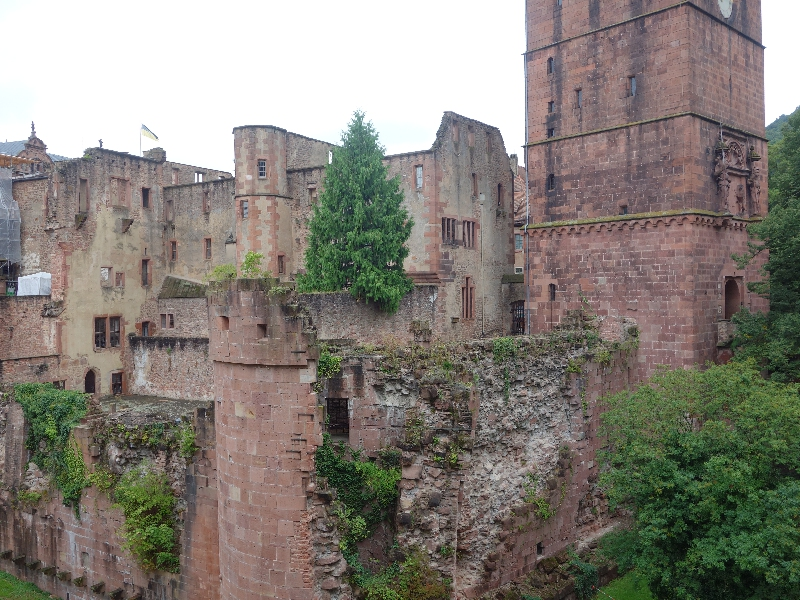 Das berühmte Schloss haben wir natürlich auch besichtigt, etwas Kultur muss sein
