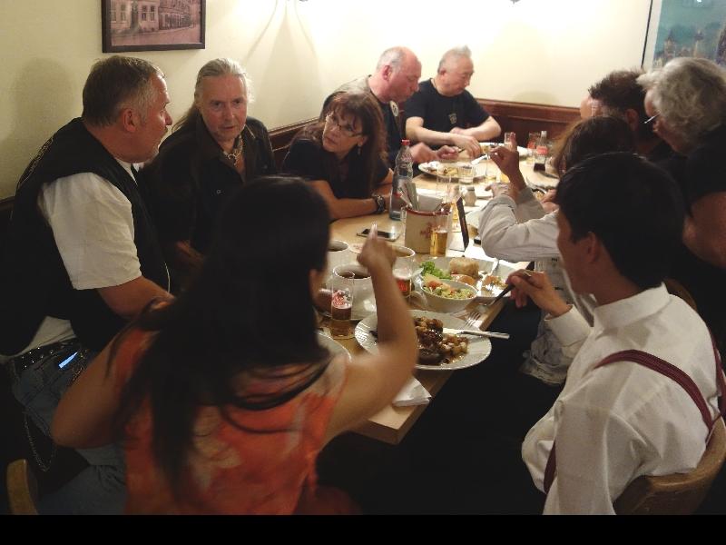 Abendessen in der Malzmühle in Köln