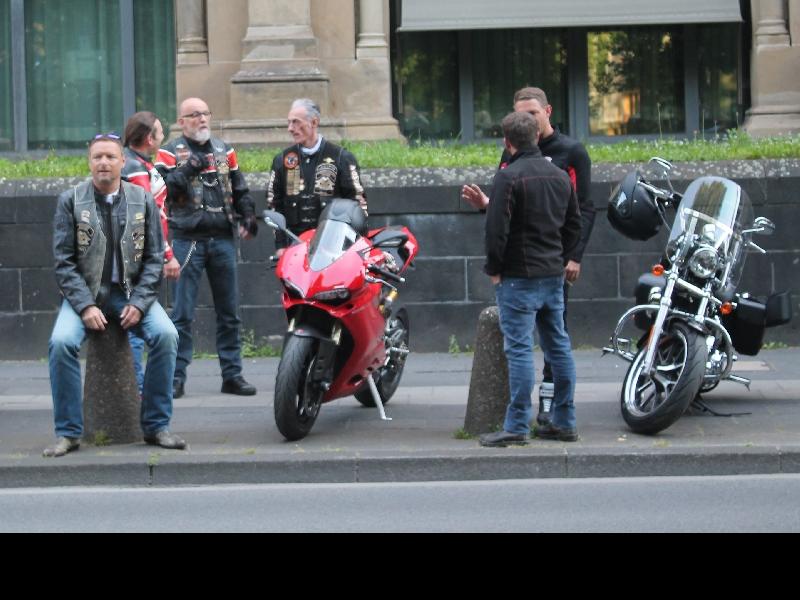 sympathische Ducatistis waren auch dabei