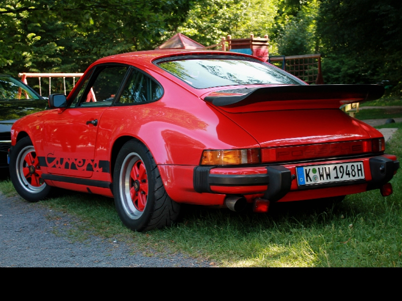 Porsche Carrera - Rechtslenker, eine Rarität