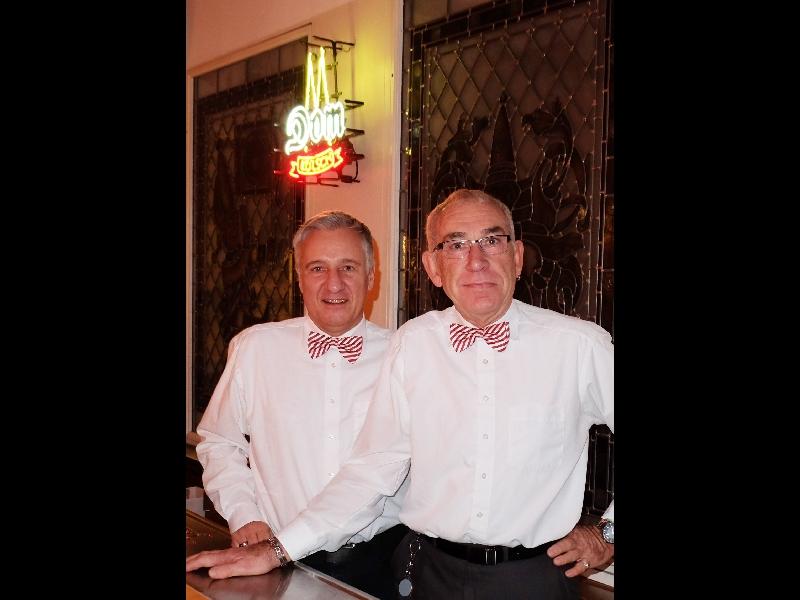 Die Hausherren, die Turmvögte Harald und Michael