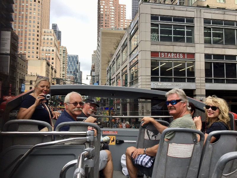Sightseeing in New York