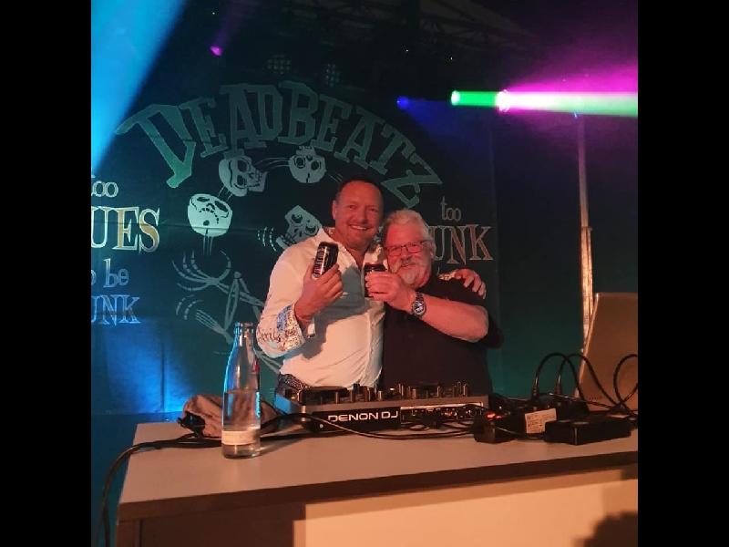 DJ Fred in seinem Element