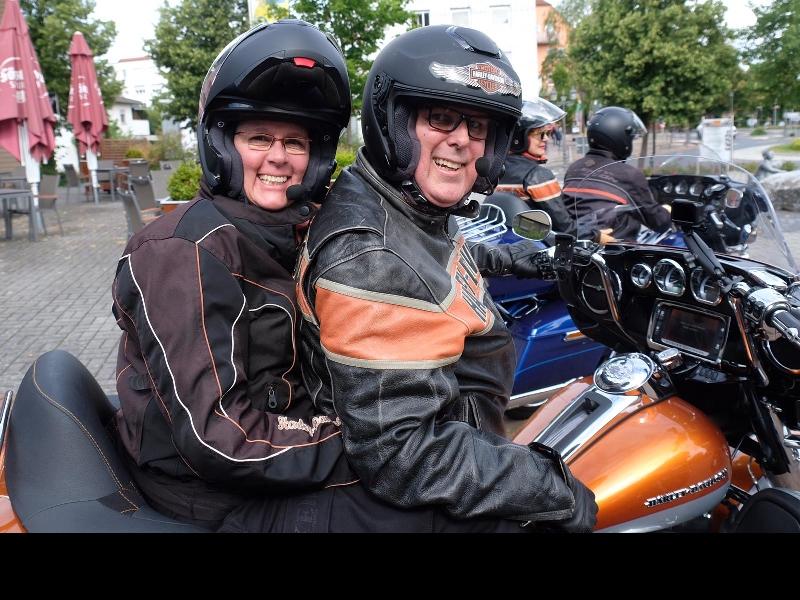 Ulli und Silvia freuen sich schon auf die Tour